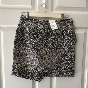 H&M Asymmetrical Embroidered Skirt NWT